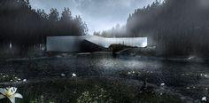 Muzeum Kistefos projektu Bjarke Ingels Group