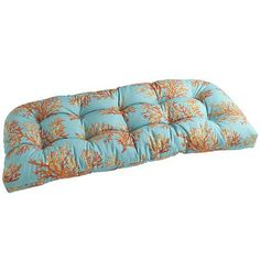 pier one coral bench cushion - coral