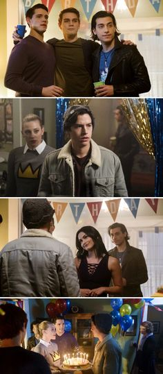 Why I loved this episode- jughead (Cole sprouse) showed so many different emotions that u don't really see from him. bughead had a stronger connection after they had that fight and when they were in the booth at pops. Veronica and Archie are together. Rob Raco, Sardonic Humor, Riverdale Betty And Jughead, Betty & Veronica, River Dale, Different Emotions, Geek Games, Riverdale Cast, Classic Comics