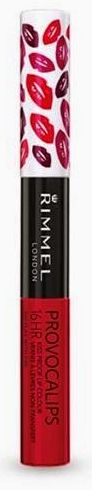 Rimmel Provocalips Transfer Proof Lipstick in Kiss Me You Fool #feelunique #Rimmel #Provocalips #lipstick #redlipstick