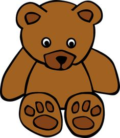 Simple Teddy Bear clip art Free Vector - ClipArt Best - ClipArt Best