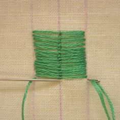 There are several stitches with braided or plaited centers that are wonderful for creating leaves—Cretan, Fishtail, and Roumanian stitches a...