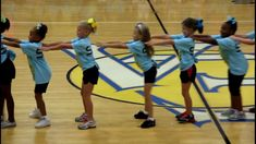Jasmine's Group (The 7 Yr Olds) do their cheers & Dance