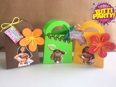 Moana Party favors, dulceros moana, moana Party ideas, playa del carmen Party store, Riviera Maya Party store, ventas@tuttiparty.mx