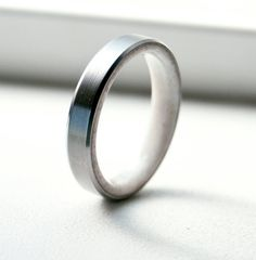 Mens Titanium and Antler Wedding Band - Titanium Ring Antler Ring mens wedding band