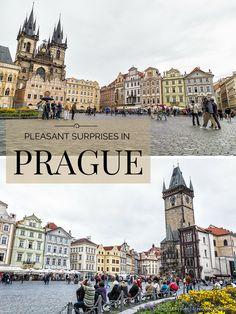 travelyesplease.com | Pleasant Surprises in Prague (Blog Post) | Old Town Square- Prague, Czech Republic