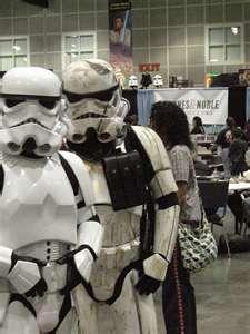 Sandtrooper vs. Storm trooper