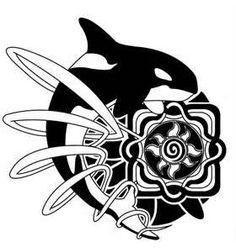 Orca Tattoo Designjpg