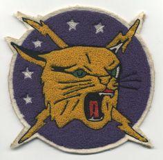Large Chenille Korean War Era USAF 5FS Squadron Patch