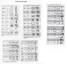Architect Symbols Drafting Symbols Pinterest Symbols