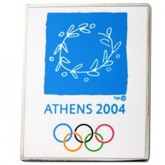 Classic Pins - Athens 2004 Olympics Logo Pin, $7.95 (http://www.classicpins.com/athens-2004-olympics-logo-pin/)
