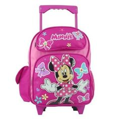 Disney Minnie Mouse Large 16 School Backpack -- Check out this great product. Best Kids Backpacks, Girl Backpacks, School Backpacks, Disney Gift, Disney Toys, Girls Luggage, Kylie, Minnie Mouse Toys, Disney With A Toddler