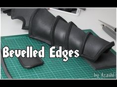 How To: Bevelled Foam Edges - YouTube