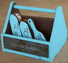 Custom Horse Grooming Box Kit by The Custom Equine! LOVE LOVE LOVE her stuff! Check her out on FB!