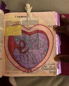 """""""Dear God, loose my womb.  And I will be obedient.  Amen."""" #illustratedfaith #biblejournaling #bibleartjournaling #biblestudy #worshipthroughart #artjournalingbible"""