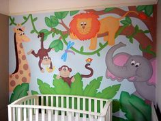 Image result for church nursery mural