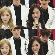 BaekYeon hihi ❤ I ship them, they look cute together^^
