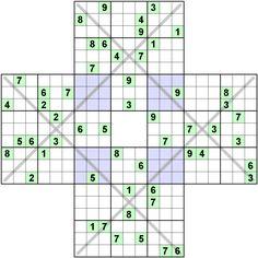 Number Logic Puzzles: 22271 - Sudoku size 9