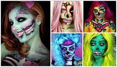 Pop Art Zombie : Mes 15 tutos vidéos préférés pour Halloween Pop Art Makeup, Sfx Makeup, Makeup Inspo, Makeup Ideas, Maquillage Halloween, Halloween Fun, Halloween Face Makeup, Zombie Pop Art, Make Up Art
