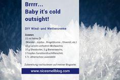 Kältecreme... Wind und Wettercreme... Creme, Salt, Food, Marigold Flower, Weather, Recipies, Essen, Salts, Meals