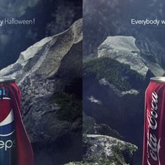 Pepsi et Coca-Cola se font la guerre pour Halloween ~ That's so brilliant!
