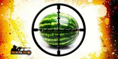 Blow up a watermelon, filled with explosives!