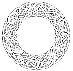This is a font that you can use to create nearly endless permutations of celtic knots! It seems really useful.