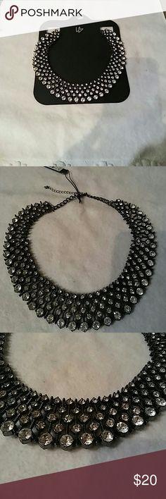 Bib rhinestone necklace One word. Gorgeous. Lane Bryant Jewelry Necklaces