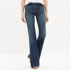 Madewell - Flea Market Flares in Carl Wash--these might be a great pair of flares, but would need hemming.  Also, backordered until June.