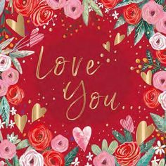 Valentine Card - Love You