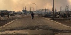 A disastrous wildfire has forced more than residents to evacuate Fort McMurray, the biggest evacuation on record in Canada. The raging fire has grown to at least acres, destroying entire neighborhoods. Fort Mcmurray, Images Gif, Of Montreal, Water Treatment, France, Alberta Canada, The Guardian, Climate Change, The Neighbourhood