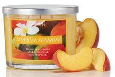 AVON candles are the best, long burn time of 36 hours, 3 wick candle, summer tropical smell