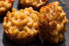 Tex-Mex Mac and Cheese Bites Recipe - CHOW