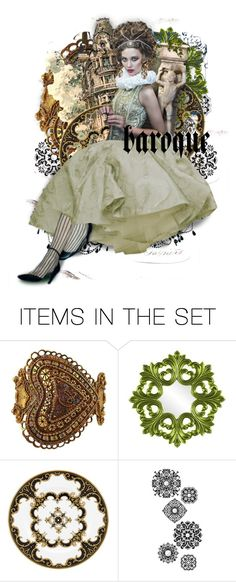 """""""♦Baroque Chic♦"""" by cindu12 ❤ liked on Polyvore featuring art"""