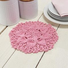 Bring some spring to your kitchen with this Lilypad Dishcloth Pattern. If your skill level is beyond that of simple square dishcloths and you want something more intricate and lovely, this is the dishcloth pattern for you. Dishcloth Knitting Patterns, Crochet Dishcloths, Knit Or Crochet, Free Knitting, Crochet Hooks, Crochet Patterns, Knitting Stiches, Flower Crochet, Crochet Things