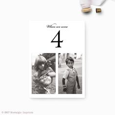 photos black and white Wedding table numbers with pictures, Photo table numbers, Color or black and white photos, Wedding Table Number Ideas, Photo Table Numbers, Wedding Table Numbers, Wedding Tables, Reception Table, Wedding Color Schemes, Wedding Colors, Table Number Stands, Picture Table, Childhood Photos