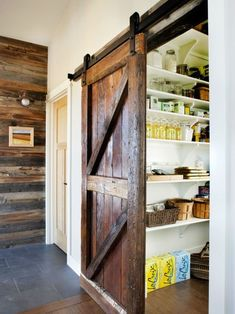 kitchen pantry ideas sink faucet with sprayer 60 best images pantries doors love the barn door contemporary by lawrence and gomez architects