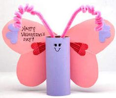 Love Bug Valentines ...cute and easy Valentines craft