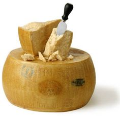 Parmigiano Reggiano DOP Mitica®.  Made from 100% raw cow's milk and aged 24 months.