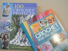 crochet books - part of a christmas giveaway