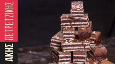 Γκοφρέτες με σοκολάτα και φυστικοβούτυρο | Kitchen Lab by Akis Petretzikis