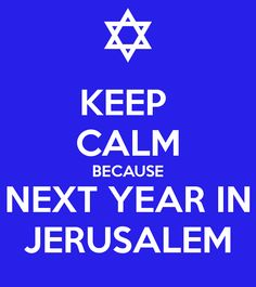 """Cool, found a Passover """"Keep Calm"""" Nice."""