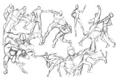pose sketch ideas