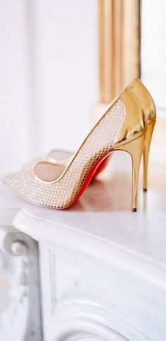 Dream Wedding™ via @jena1125. #heels #bridal