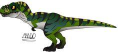 Bull T Rex by rainbowarmas on DeviantArt Dinosaur Drawing, Cartoon Dinosaur, Dinosaur Art, Cute Dinosaur, Dinosaur Images, Dinosaur Pictures, Jurassic Park Series, Jurassic Park World, Michael Crichton