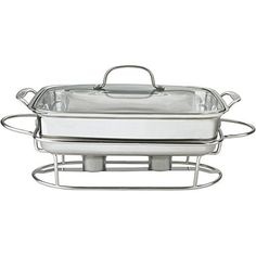 Easy and elegant way to keep your favorite party dishes warm when entertaining family and friends. The buffet pan is constructed of stainless steel with an aluminum-encapsulated base. You can prepare meals in the oven or on the stove top then transfer them to the warming stand for immediate... - http://kitchen-dining.bestselleroutlet.net/product-review-for-classic-entertaining-buffet-server/
