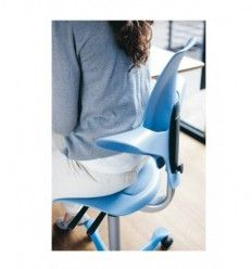 Saddle chair, Standing Rest, Saddles and Stools for back pain preventi - KOS Ergonomics - Back Care Seating Specialists High Back Office Chair, Mesh Office Chair, Office Chairs, Best Ergonomic Office Chair, Ergonomic Chair, Saddle Chair, Work Chair, Adjustable Height Table, Mesh Chair