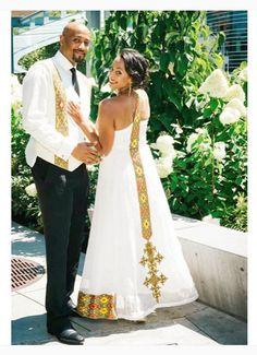 HAbesha Bride in Melse Attire | Habesha Brides | Pinterest ...