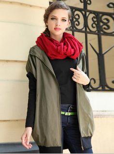 Fashion Casual Hooded Jacket$79.00