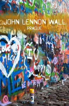 Shrine to pacifism from communim or colourful eyesore – Prague's John Lennon Wall polarises opinion. First painted in 1980 it's been evolving ever since.